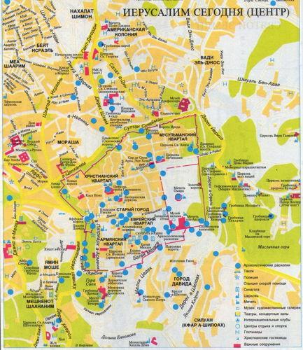 Акелдама. Карта