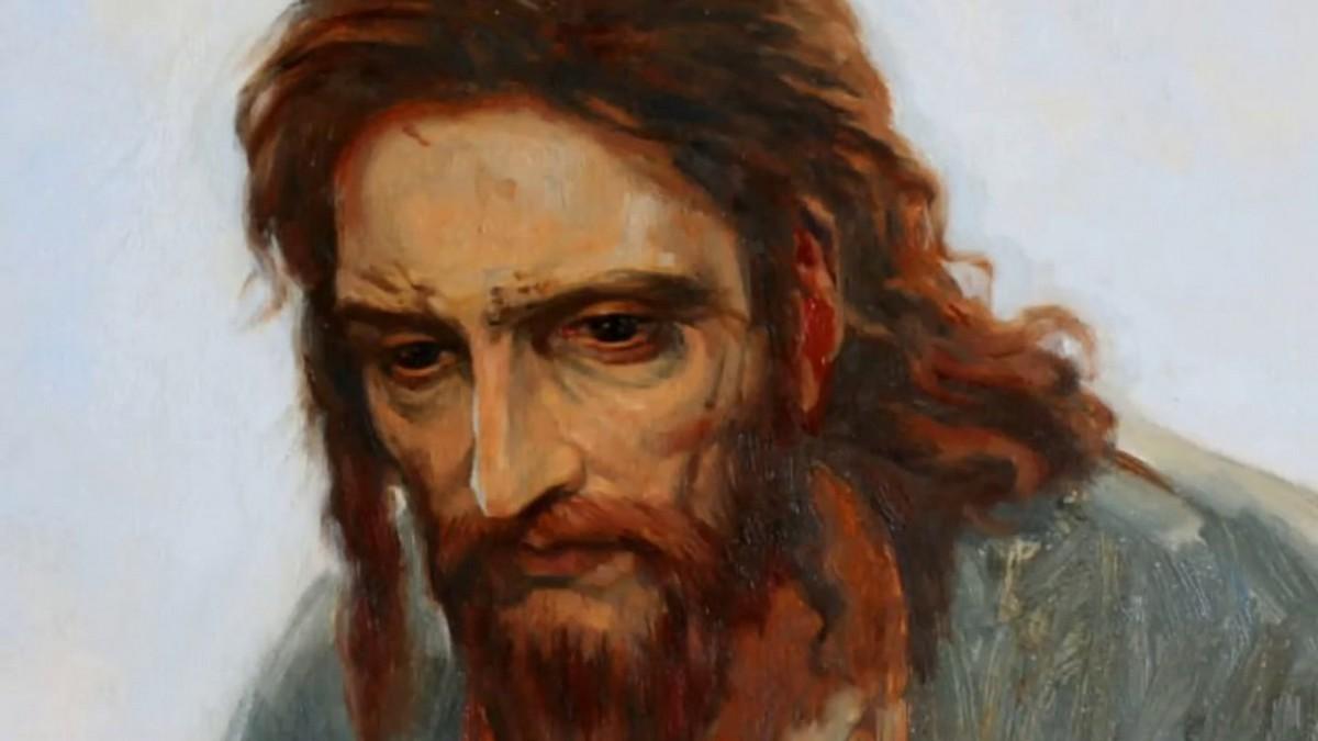 І. Крамской – «Христос в пустині»