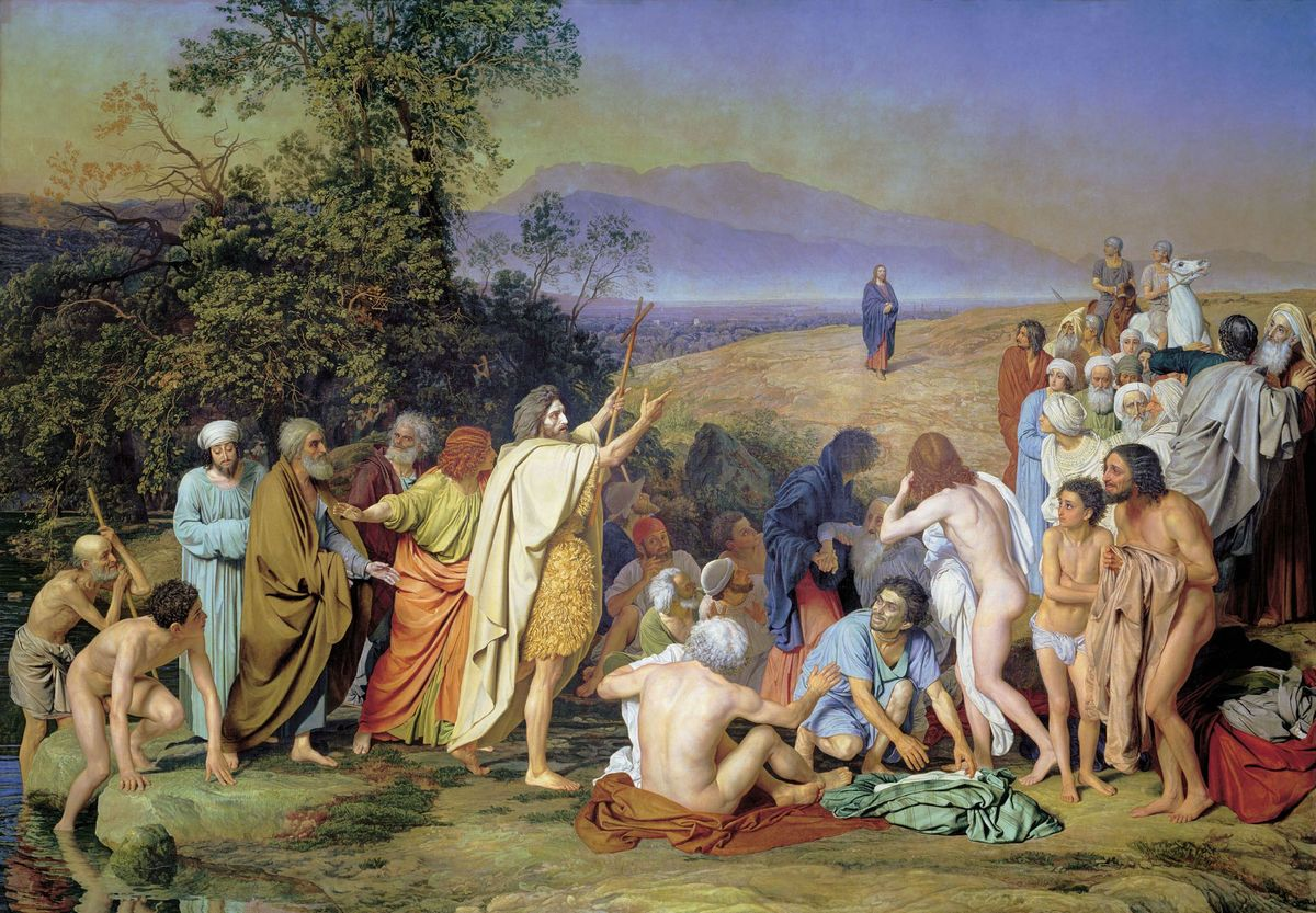 О.А. Іванов - «Явлення Христа народові»