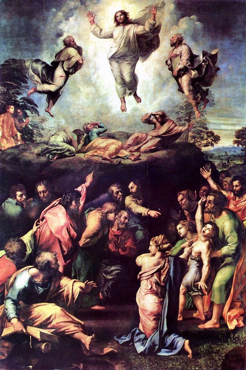 Рафаель - «Преображення Господнє»